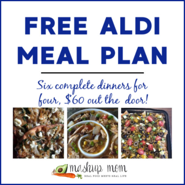 Free ALDI Meal Plan week of 1/27/19