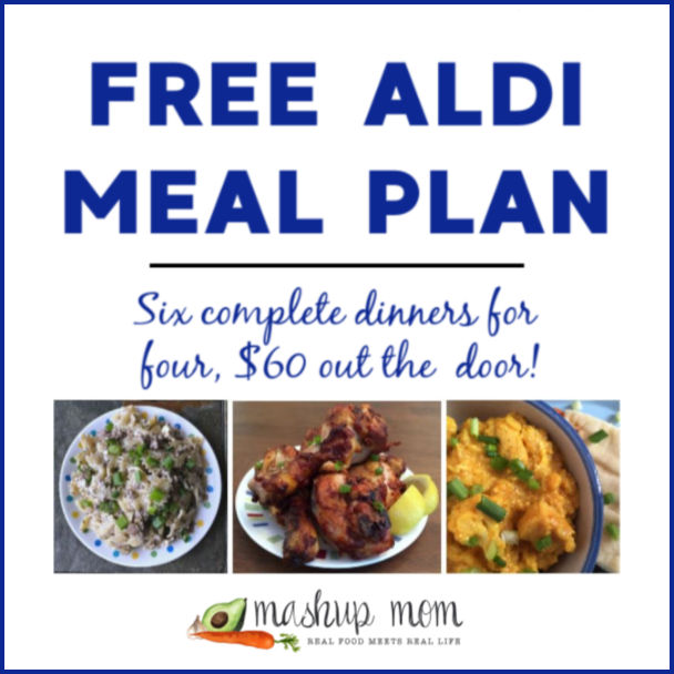 Free ALDI Meal Plan week of 2/3/19