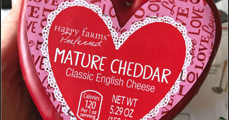 Forget candy and flowers — give me cozy socks and heart shaped cheese!