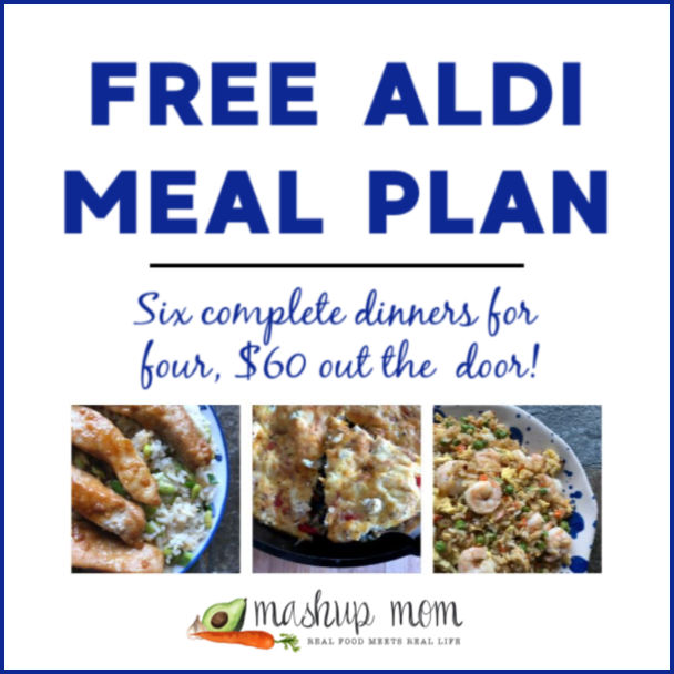 Free ALDI Meal Plan week of 2/10/19