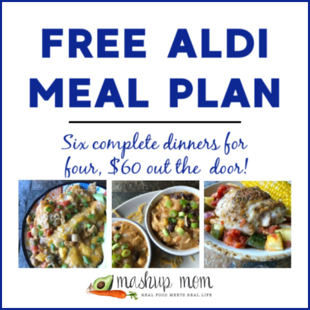 Free ALDI Meal Plan week of 2/17/19