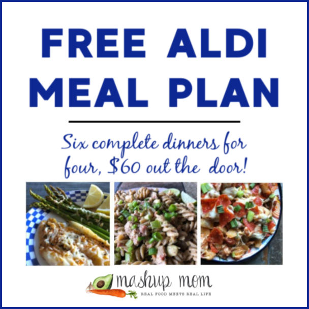 Free ALDI Meal Plan week of 3/3/19