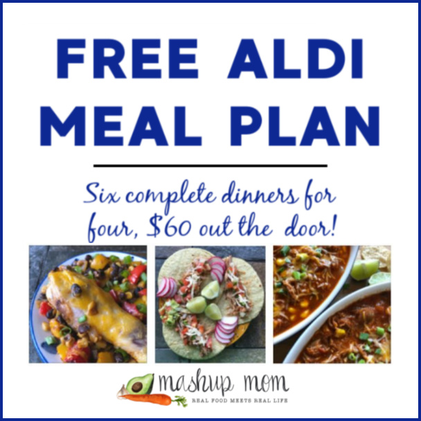Free ALDI Meal Plan week of 2/24/19