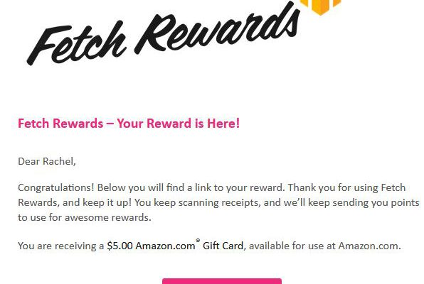 Turn ALDI Receipts into Amazon gift cards with Fetch Rewards