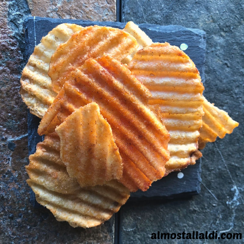 A little tandoori barbecue flavored potato chips review… and what have YOU impulse bought at ALDI lately?