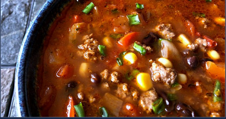 Chipotle Taco Soup — An All ALDI Recipe!