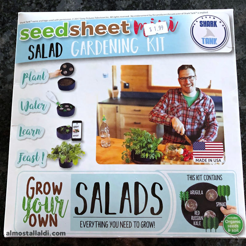 What's the best thing you found on ALDI Clearance this week? Check out my gardening kit!