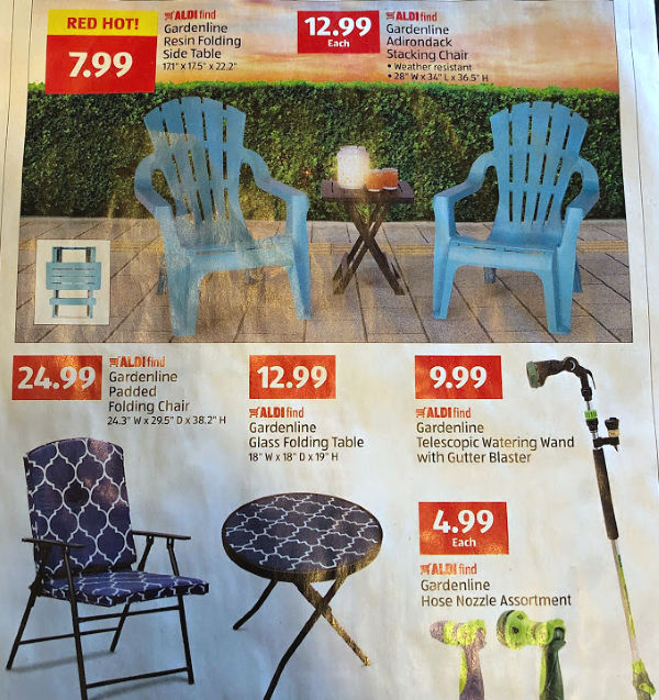 Groovy Spruce Up Your Patio With This Weeks Aldi Finds Almost Gmtry Best Dining Table And Chair Ideas Images Gmtryco