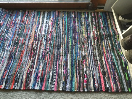 ALDI Finds this week include stripy chindi rugs