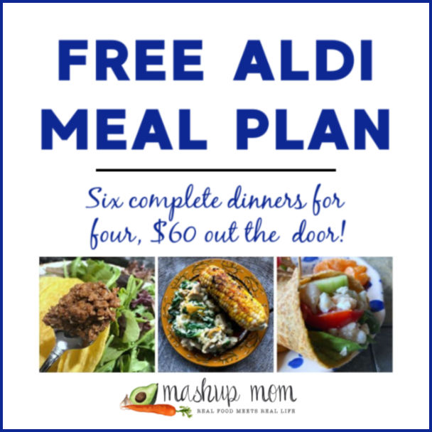 Free ALDI Meal Plan week of 4/28/19