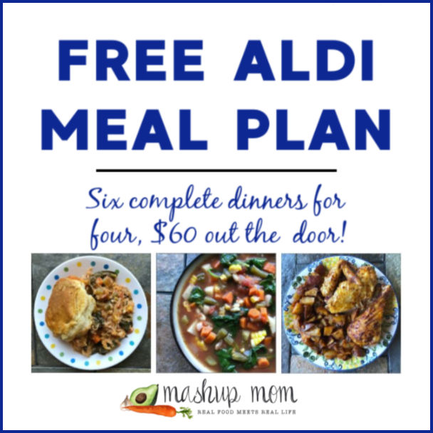 Free ALDI Meal Plan week of 4/21/19