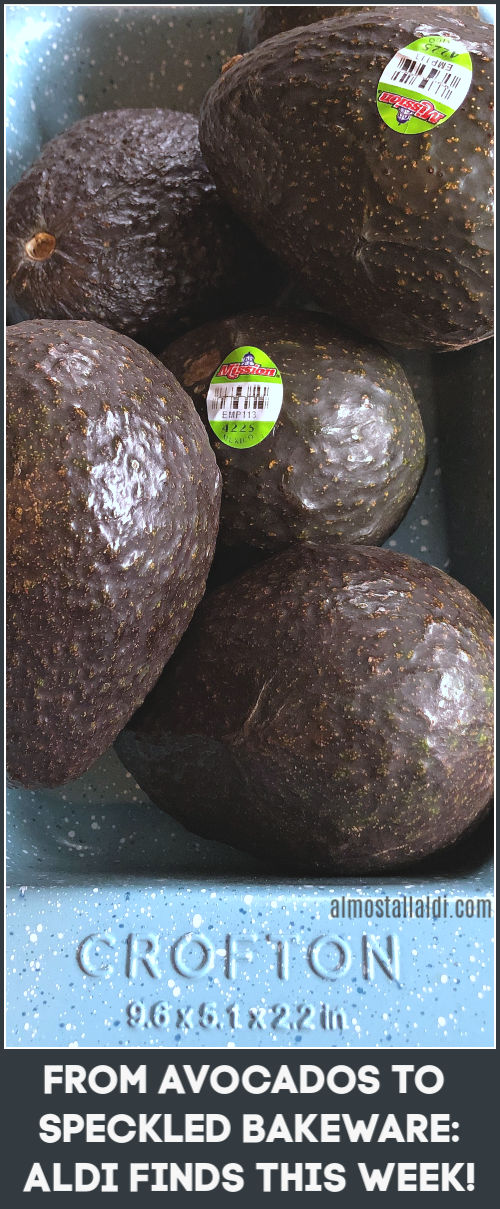from avocados to speckled bakeware