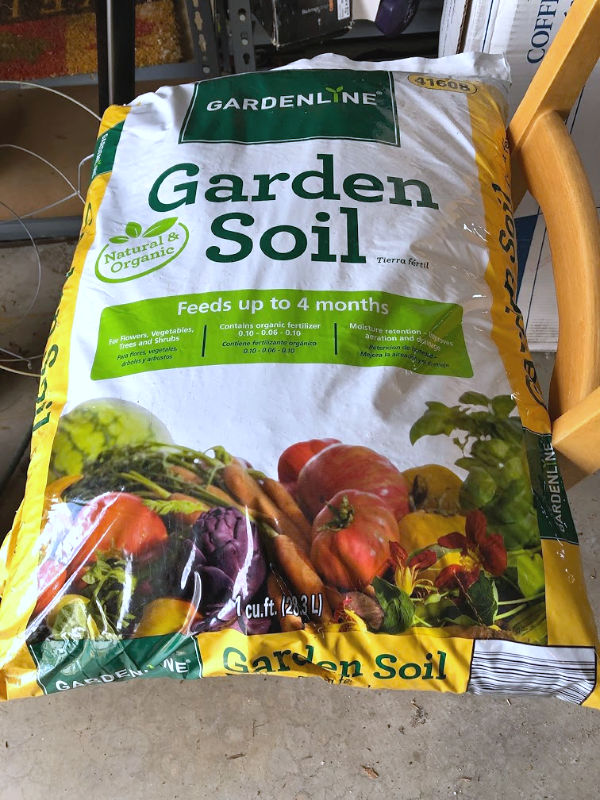 gardenline garden soil from ALDI