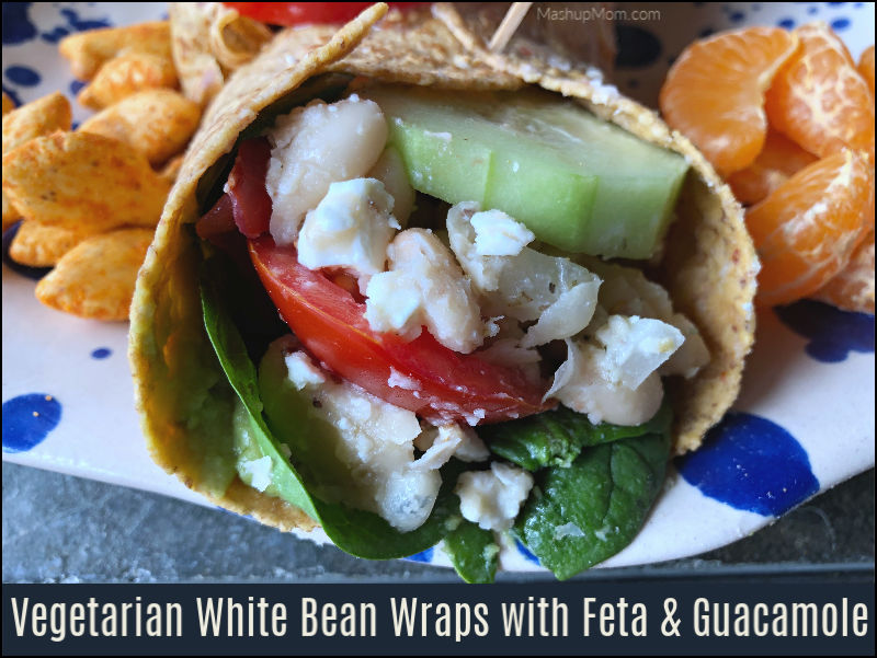 Vegetarian White Bean Wraps — could be an All ALDI Recipe