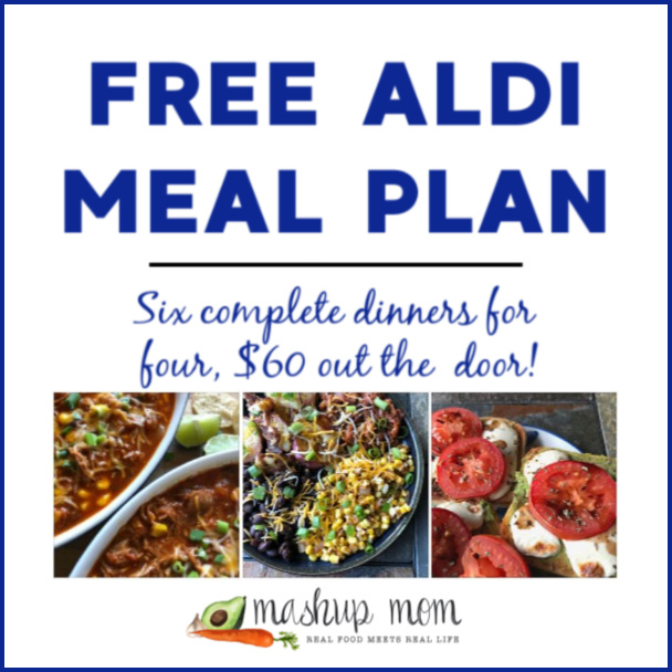 Free ALDI Meal Plan week of 5/5/19