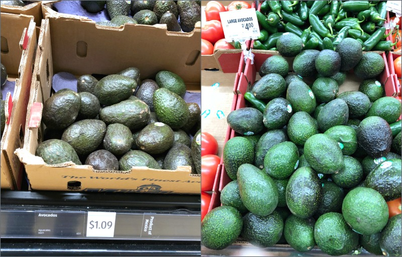 avocado prices at ALDI vs jewel