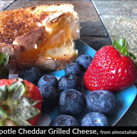 Chipotle Cheddar Grilled Cheese Sandwiches