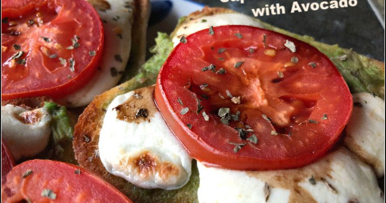 Open Face Caprese Sandwiches — An All ALDI Recipe
