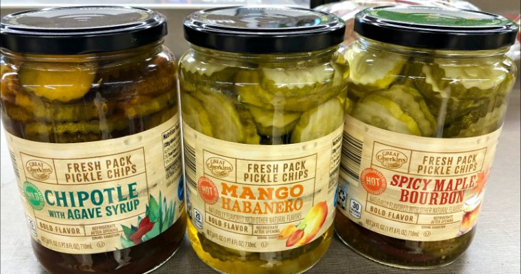 Favorite ALDI Finds this week — from a Slushy Maker to these crazy pickles to lots of storage