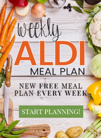 Free ALDI Meal Plan every week from Mashup Mom