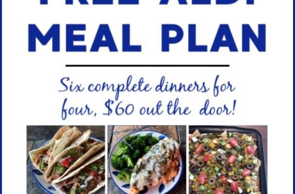 Mashup Mom ALDI Meal Plan week of 7/21/19