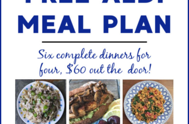 Mashup Mom ALDI Meal Plan week of 7/28/19