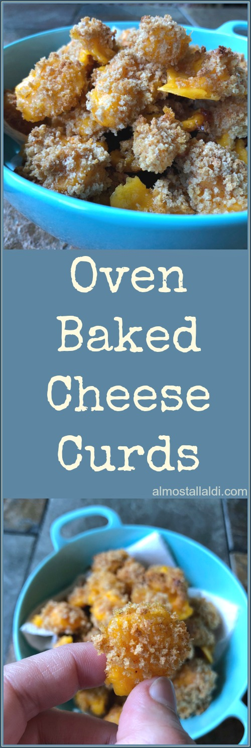 Oven Baked Cheese Curds