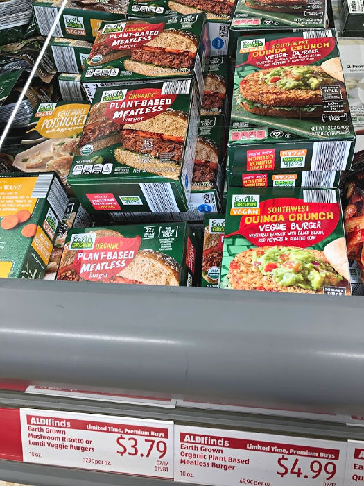 ALDI Finds for Vegetarians include dairy free ice cream