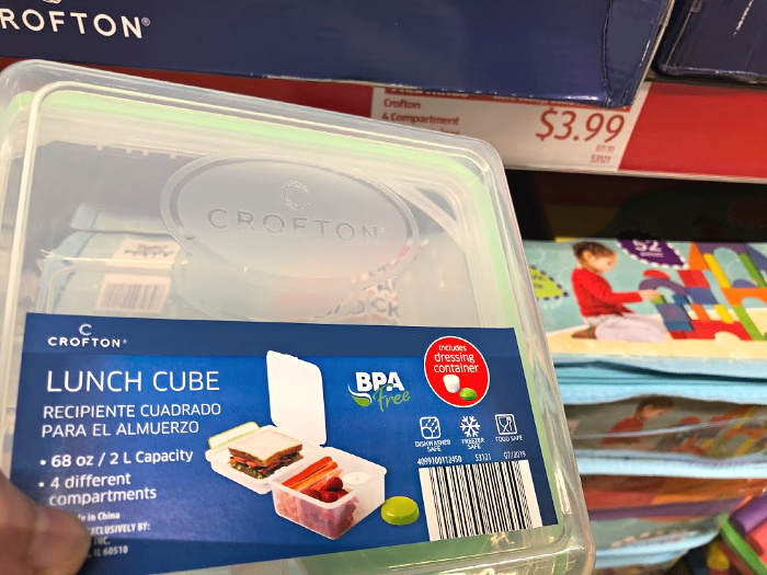 crofton lunch cubes at aldi