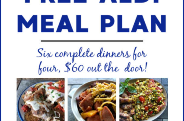 Mashup Mom ALDI Meal Plan week of 8/18/19