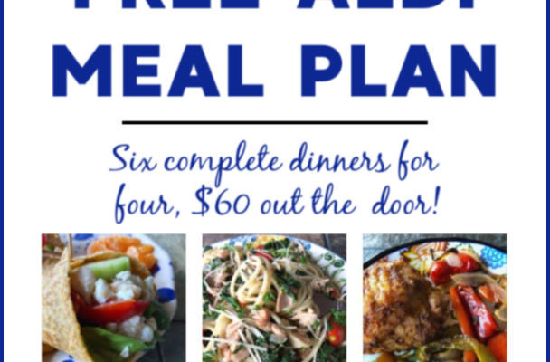 Mashup Mom ALDI Meal Plan week of 8/25/19