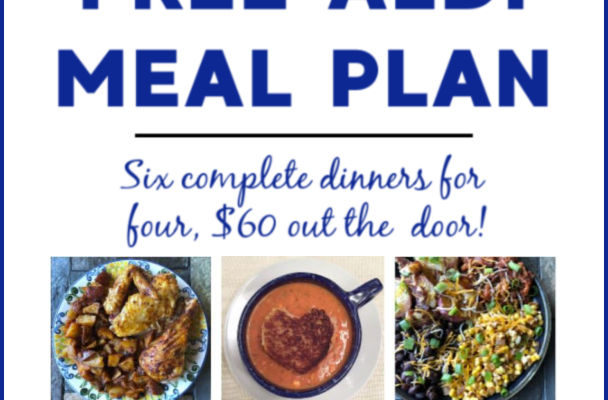 Mashup Mom ALDI Meal Plan week of 9/1/19