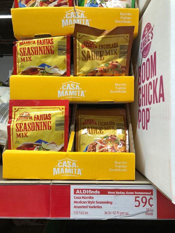 casa mamita fajitas seasoning packets