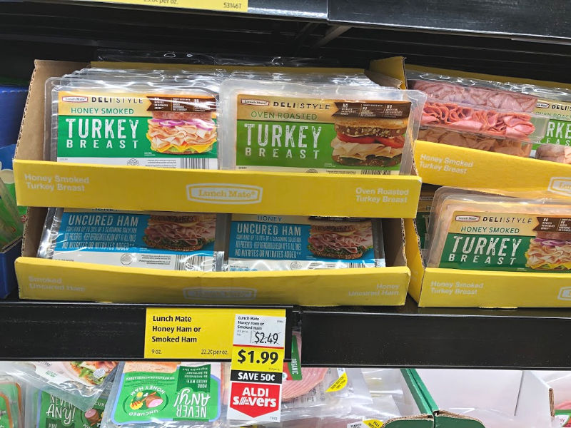 lunch mate lunch meat on sale at aldi