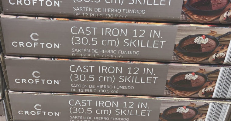 A $10 Crofton Cast Iron Skillet?! And more awesome ALDI Finds