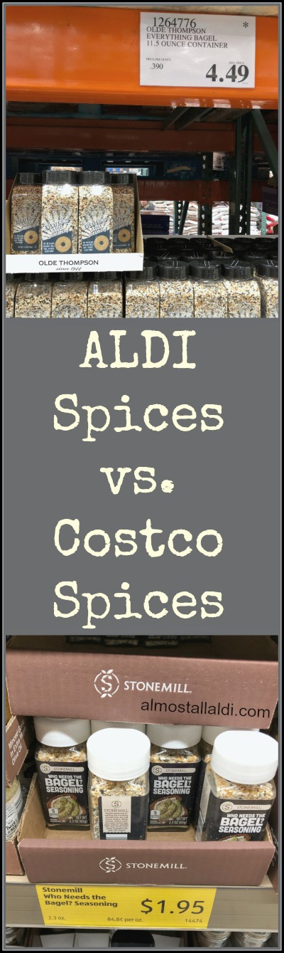 aldi spices vs costco spices