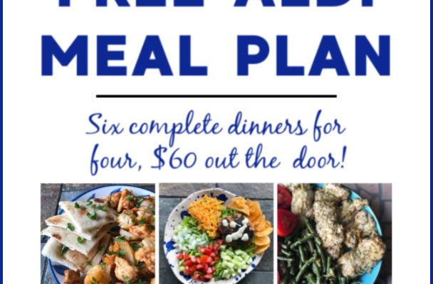 Mashup Mom ALDI Meal Plan week of 9/15/19