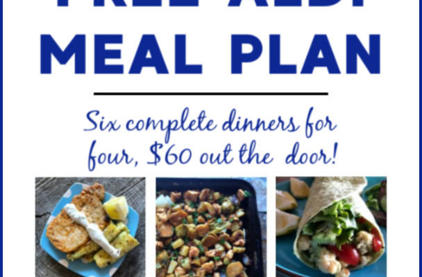 Mashup Mom ALDI Meal Plan week of 9/8/19