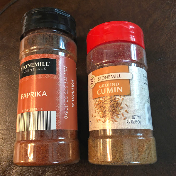 Stonemill spices at ALDI got smaller