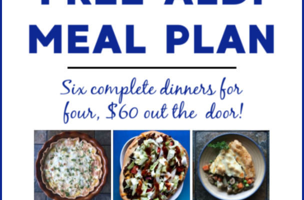 Mashup Mom ALDI Meal Plan week of 11/3/19