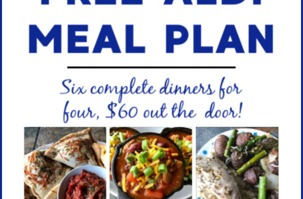 Mashup Mom ALDI Meal Plan week of 11/24/19 – 11/30/19