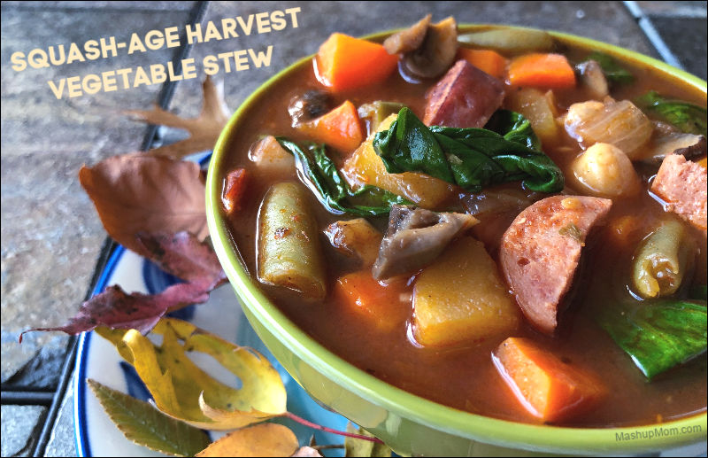 Squash-age and Harvest Vegetable Stew: An almost all ALDI recipe