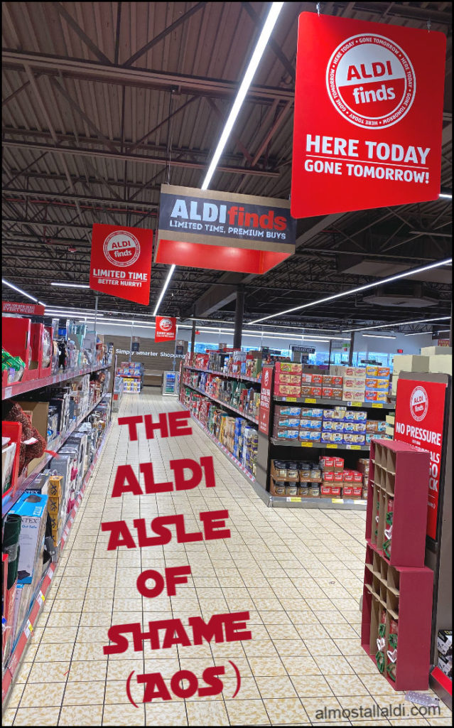 what is the ALDI aisle of shame? Your ALDI FAQs, answered.