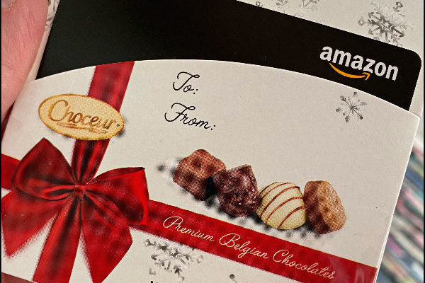 Choceur Belgian Chocolates Gift Card Holders = The Best Of Both Worlds