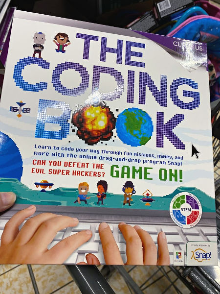 The Coding Book and more ALDI Finds this week
