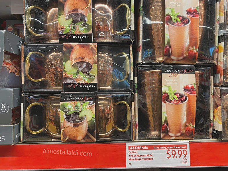 ALDI Finds from Moscow Mule Mugs to Star Wars Sleep Sets