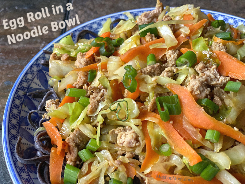 Egg Roll in a Noodle Bowl — An almost all ALDI recipe