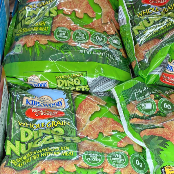 kirkwood whole grain dino nuggets at aldi -- and more ALDI Finds this week