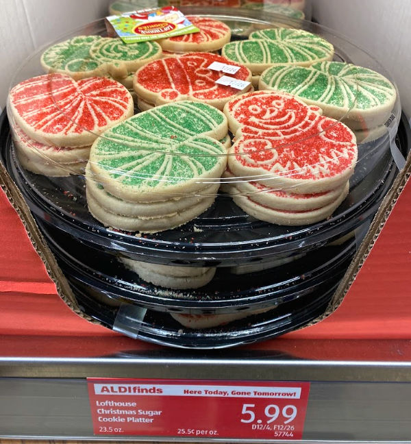 lofthouse sugar cookies for the holidays and more ALDI Finds this week