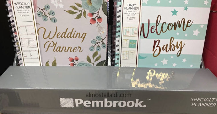 Meal planning planners + more ALDI specialty planners this week!